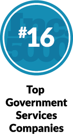 Inc. 5000 - #16 Top Government Services Companies