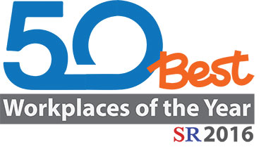 50 Best Workplaces of the Year SR2016
